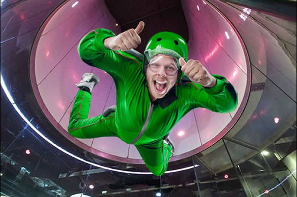 Il wind tunnel indoor skydiving ASD VZONE VERCELLI
